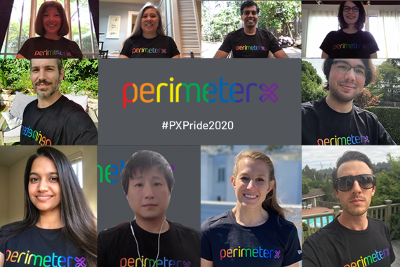 PerimeterX Pride Month 2020 #PXPride2020 Collage